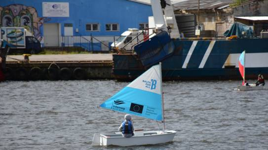 Otwarcie sezonu żeglarskiego w Kołobrzegu.